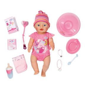 BABY born             Puppe interaktiv mit Zubehör