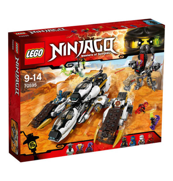 LEGO NINJAGO Ultra-Tarnkappen-Fahrzeug günstig kaufen 70595