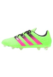 adidas Performance ACE 16.1 FG/AG Fußballschuh Nocken solar green/shock pink/core black