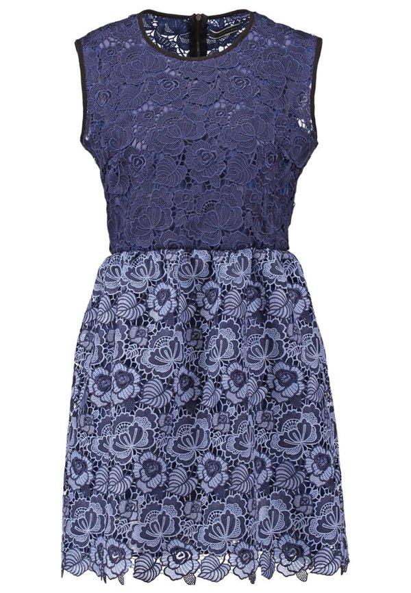 99428277c733cd Sportmax Code Cocktailkleid / festliches Kleid blau von ansehen ...