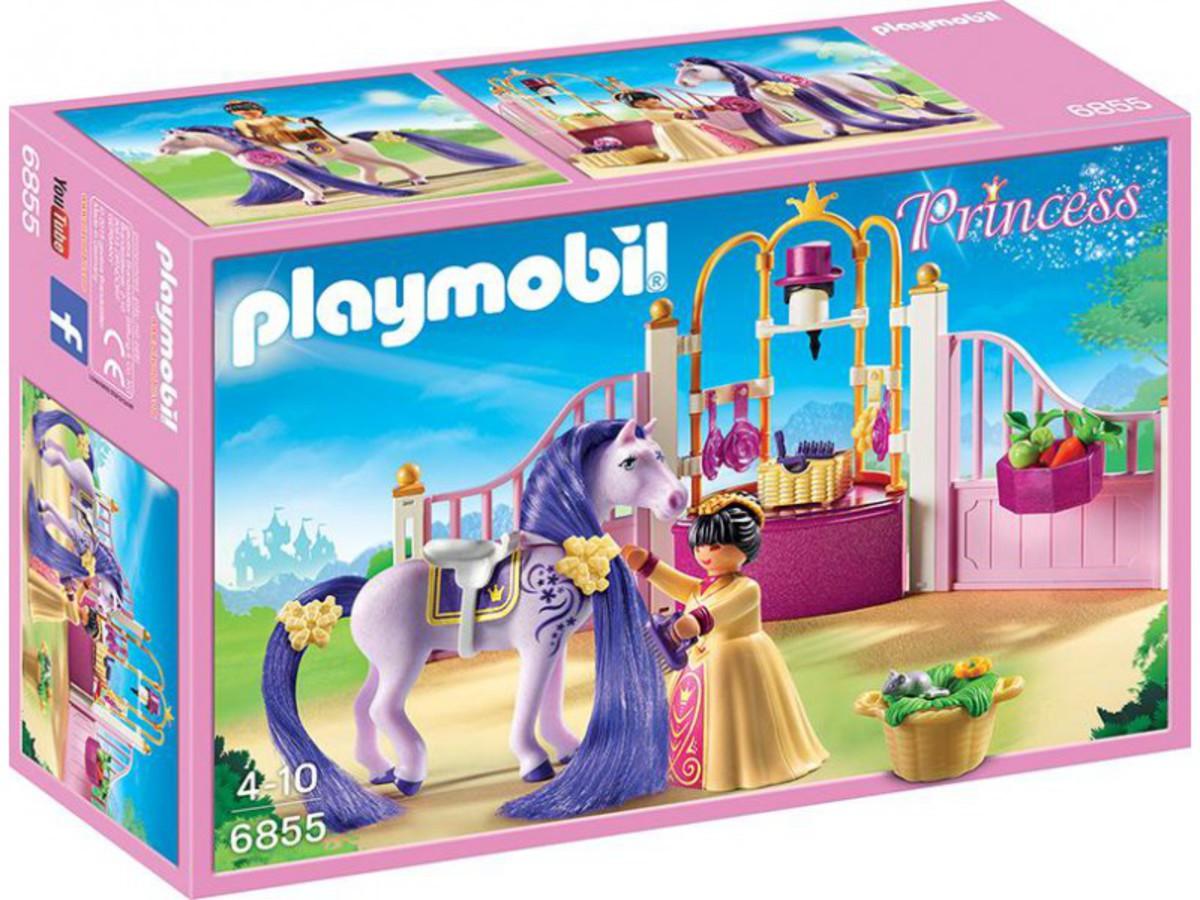 Bild 1 von PLAYMOBIL® 6855 Königlicher Pferdestall