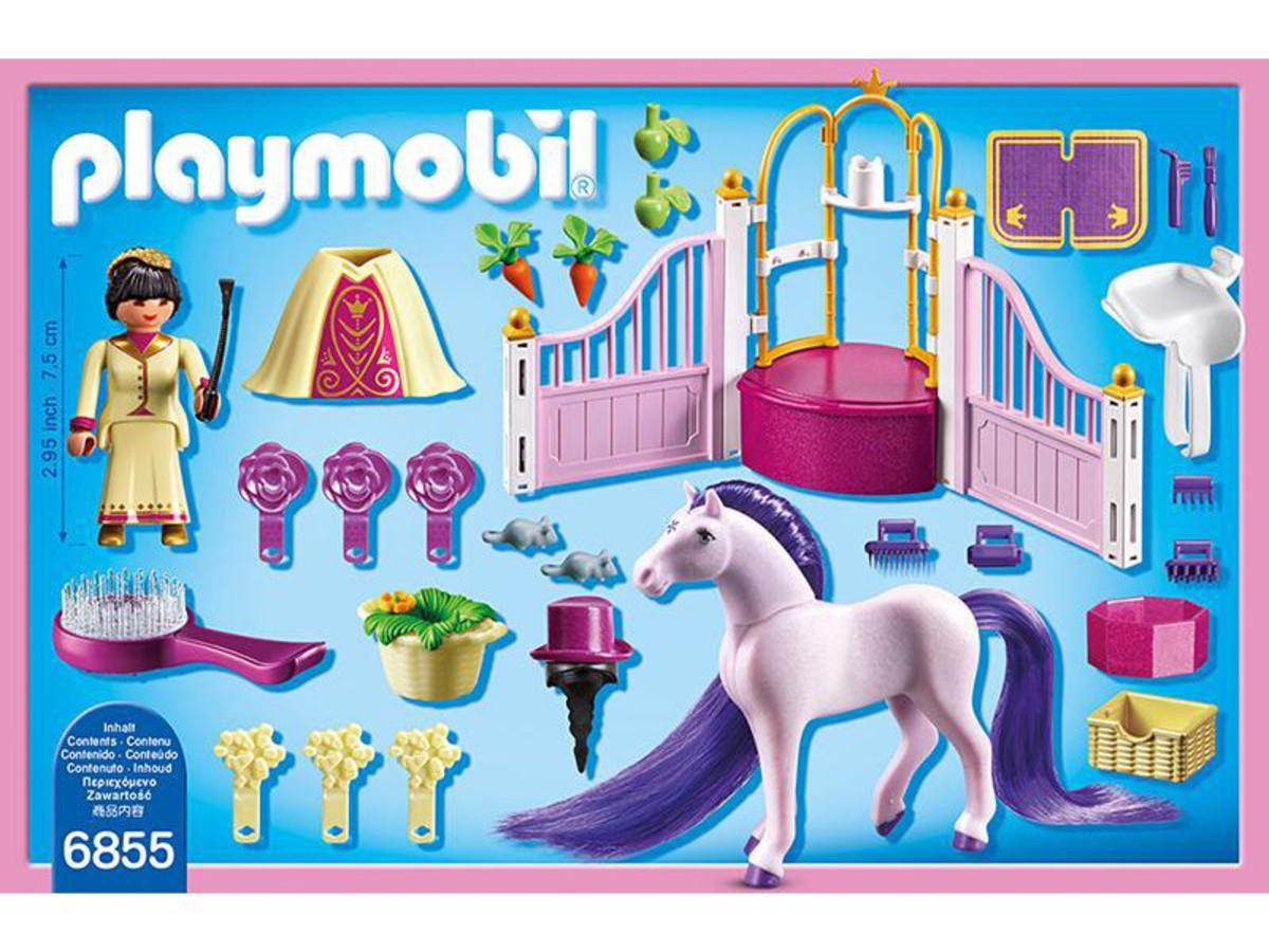 Bild 2 von PLAYMOBIL® 6855 Königlicher Pferdestall
