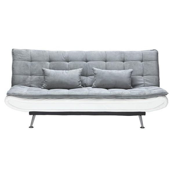 schlafsofa in grau mit schlaffunktion von m max ansehen. Black Bedroom Furniture Sets. Home Design Ideas