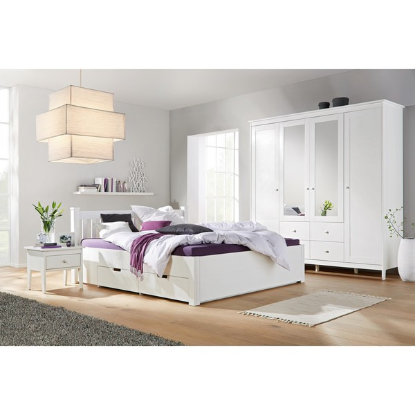 bett in wei ca 160x200cm von m max f r 449 ansehen. Black Bedroom Furniture Sets. Home Design Ideas