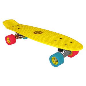 "Nijdam Kinder Skateboard, 22,5"" Gelb"
