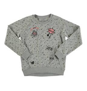 JETTE by STACCATO             Sweatshirt, Sterne, Aufnäher, für Mädchen