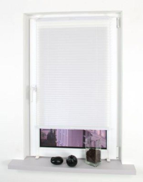 liedeco klemmfix plissee verspannt montage ohne bohren wei von f r 16 95 ansehen. Black Bedroom Furniture Sets. Home Design Ideas