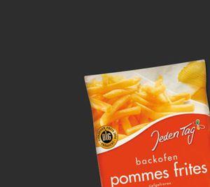 Jeden Tag Backofen-Pommes Frites
