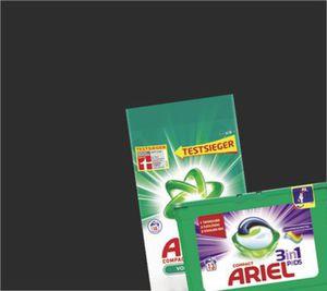 Ariel compact, flüssig oder 3in1 Pods