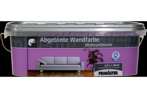 Primaster Wandfarbe Wohnambiente lila, 2,5 l