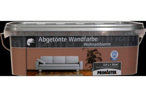 Primaster Wandfarbe Wohnambiente  cappuccino, 2,5 l