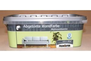 Primaster Wandfarbe Wohnambiente  klee, 2,5 l