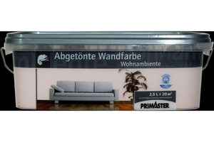 Primaster Wandfarbe Wohnambiente  soft rose, 2,5 l