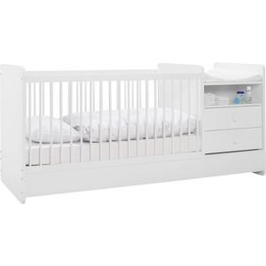 Kinder-/Juniorbett in Weiß, ca. 70x140cm