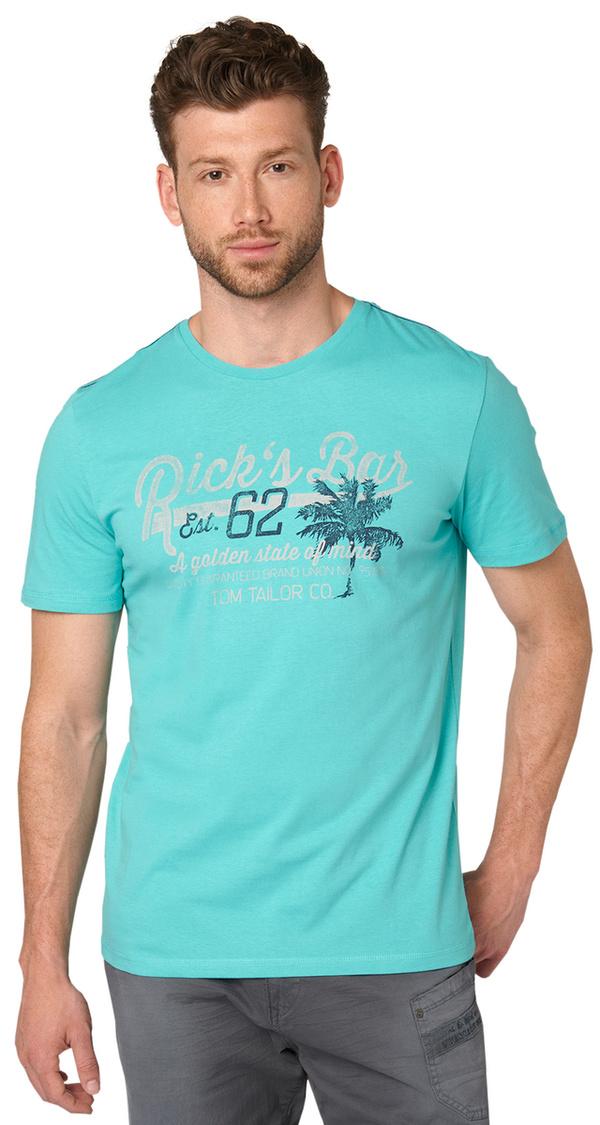 t shirt mit schriftzug von tom tailor f r 12 99 ansehen