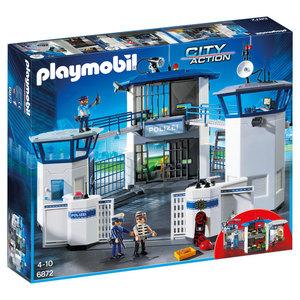 Playmobil 6872  City Action - Polizeibüro mit Gefängnis