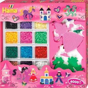 Hama Riesen-Geschenkpackung, farbige Streichperlen