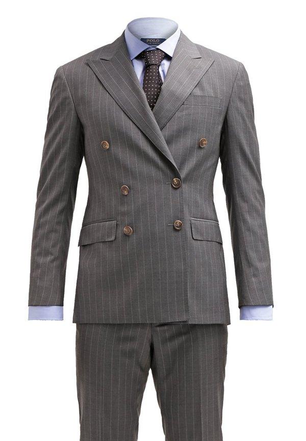 059a80f2ee6501 Polo Ralph Lauren CUSTOM FIT Anzug light grey von ansehen ...