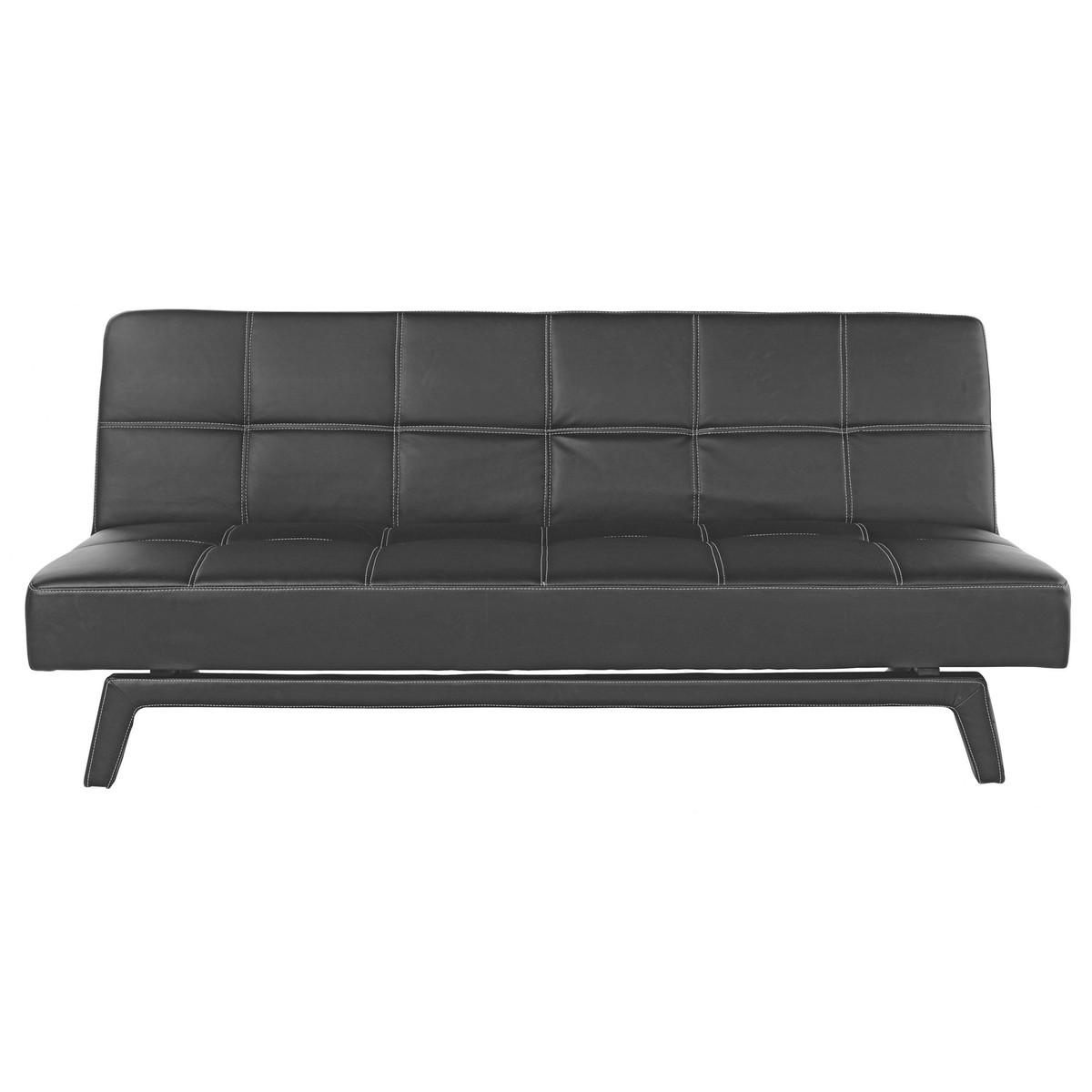 Sofa in schwarz von m max ansehen for Schlafsofa xora