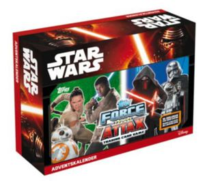 D105363 Star Wars Force Attax Adventskalender