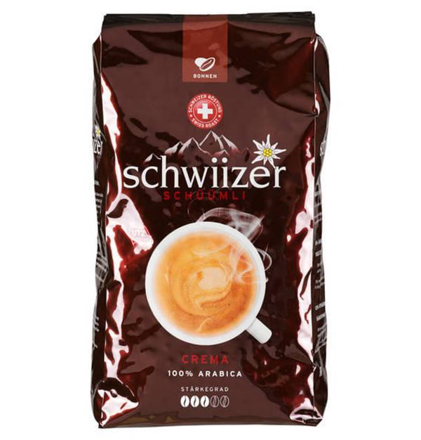 schwiizer sch mli kaffee crema ganze bohnen 1000 g von galeria kaufhof f r 13 99 ansehen. Black Bedroom Furniture Sets. Home Design Ideas