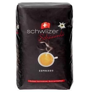 Schwiizer Schüümli Espresso ganze Bohnen 1000 g