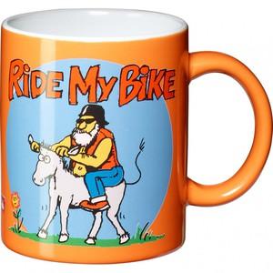 """Polo                     Tasse """"Ride my Bike"""""""