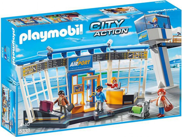 PLAYMOBIL® 5338 City-Flughafen mit Tower