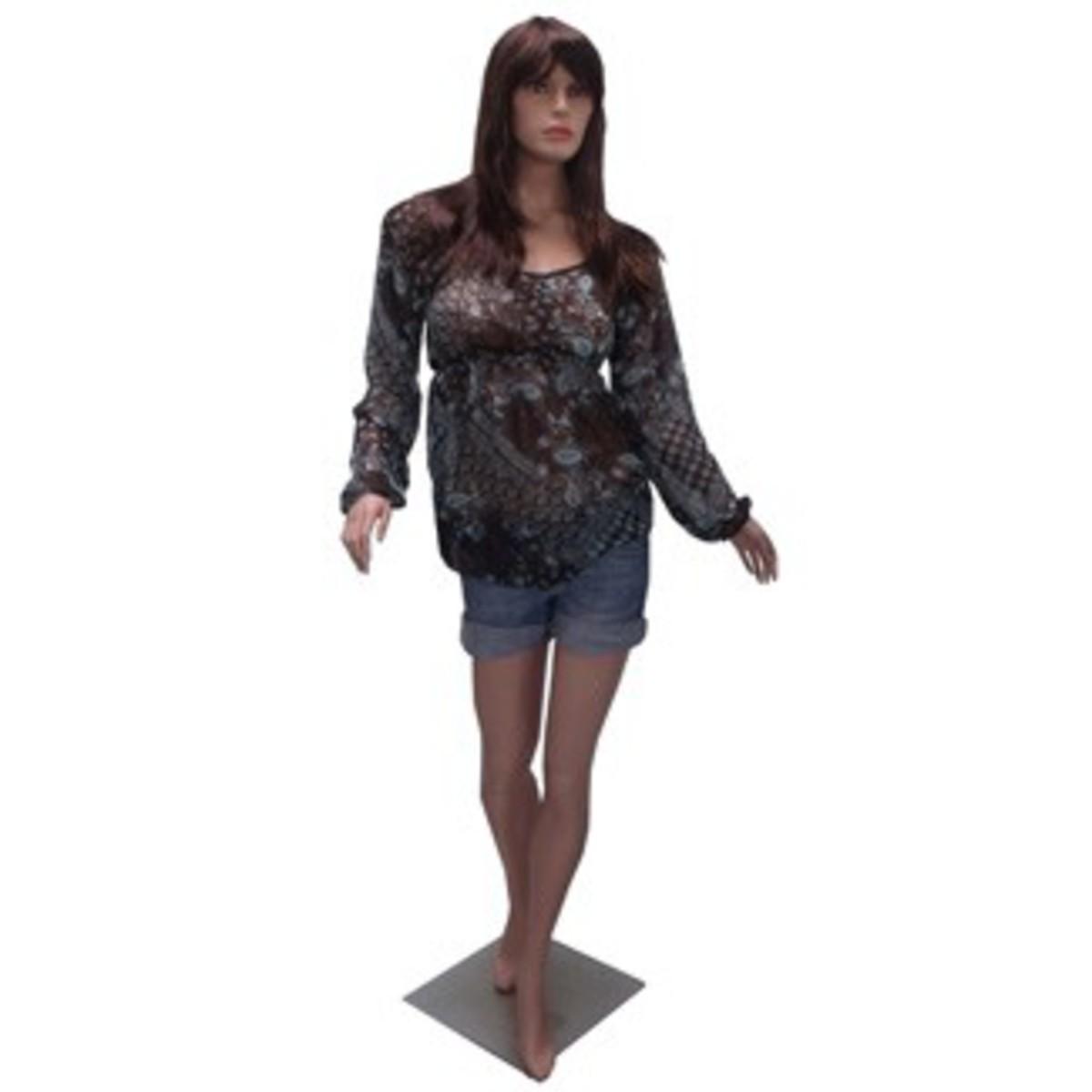Bild 1 von Mauk Schaufensterpuppe weiblich, ohne Perücke