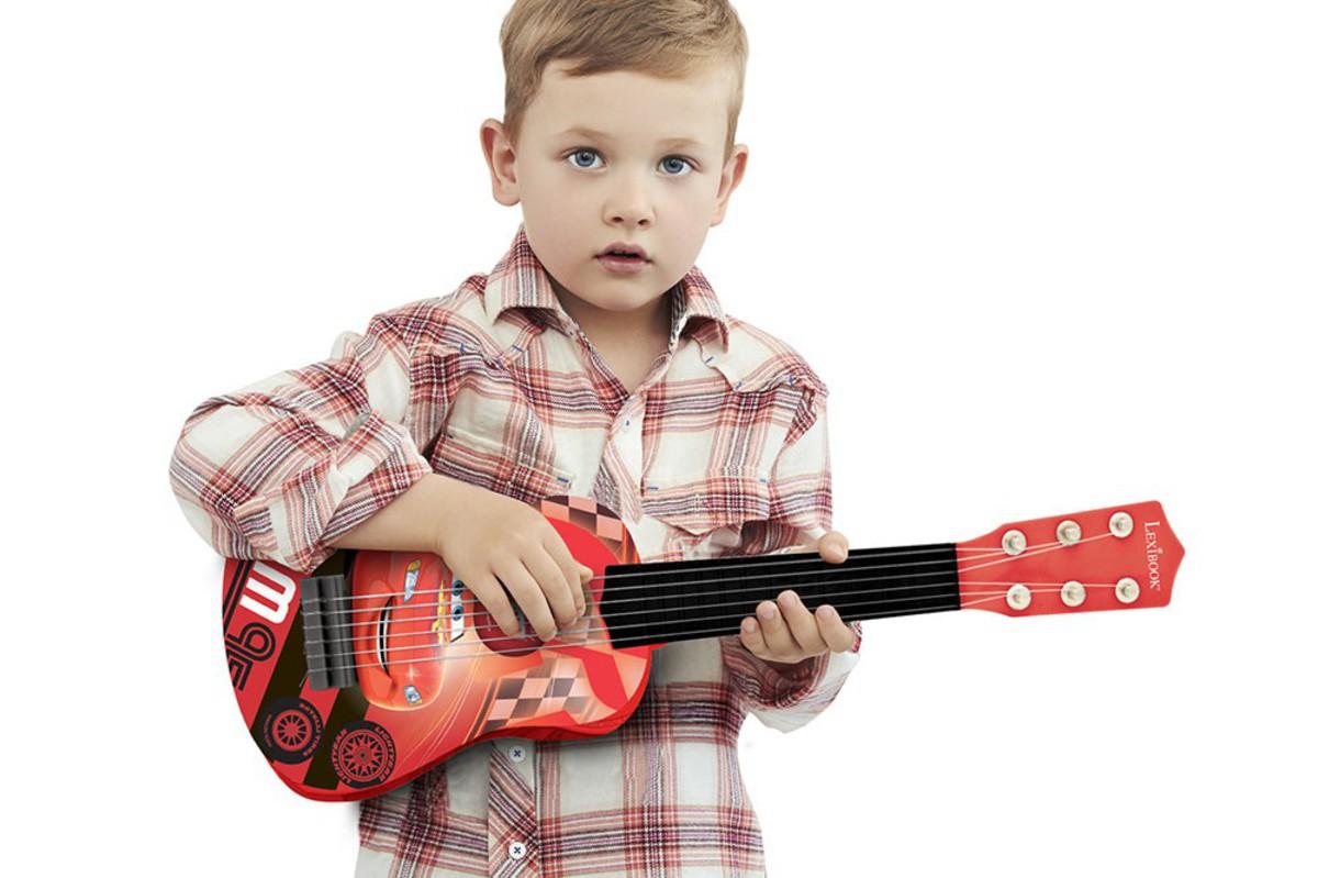 Bild 2 von Lexibook® Disney Cars Gitarre - ca. 53 cm