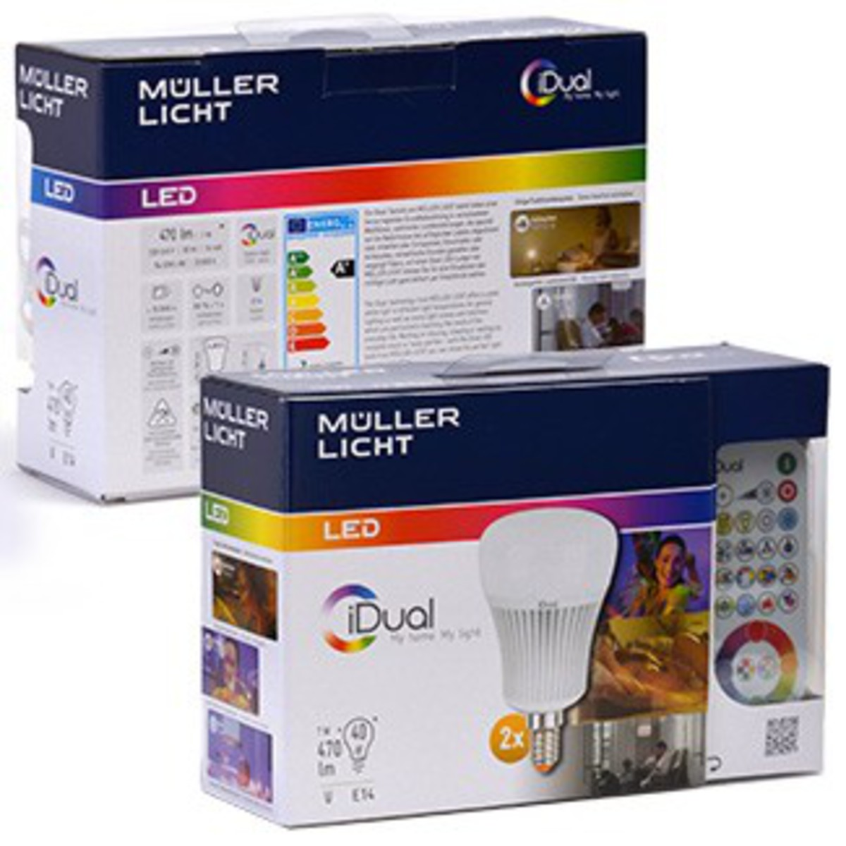 Bild 4 von iDual LED-Mini-Globe E14 2er-Set, 7 Watt