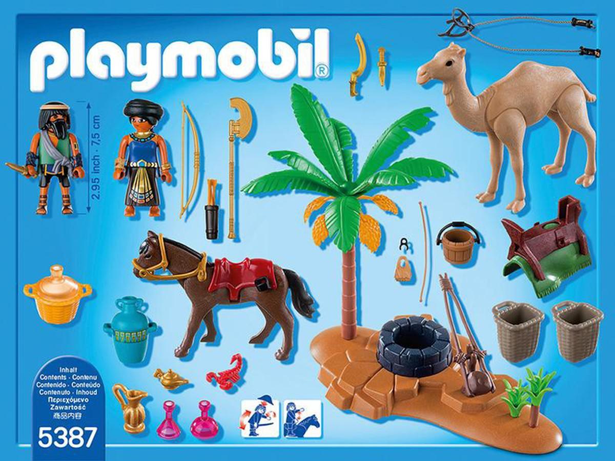 Bild 2 von PLAYMOBIL® 5387 Grabräuber-Lager