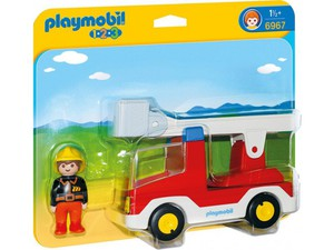 PLAYMOBIL® 6967 1.2.3. Feuerwehrleiterfahrzeug