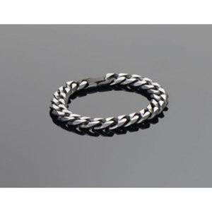 "Armband ""Bi-Color""        schwarz/silber, Länge: 21,5cm"