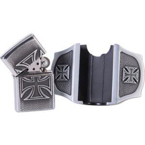Gürtelschnalle Iron Cross        mit Feuerzeug