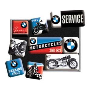 "BMW Magnet-Set ""Motorcycles"", 9-teilig"