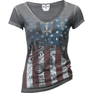 "WCC ""American Pride"" Damen T-Shirt"