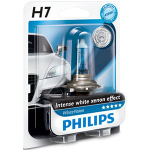 Philips WhiteVision H7 55W        Halogen-Lampe