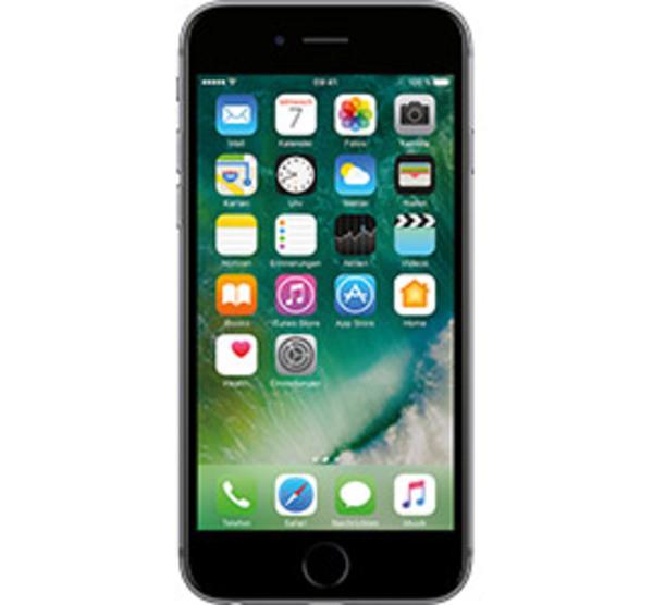 apple iphone 6s 64 gb space grau von t mobile f r 9 95. Black Bedroom Furniture Sets. Home Design Ideas