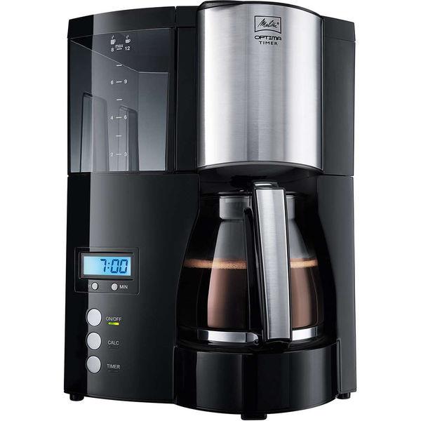 melitta kaffeemaschine optima timer schwarz von karstadt f r 49 99 ansehen. Black Bedroom Furniture Sets. Home Design Ideas