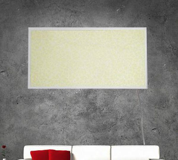 mauk infrarot wandheizung marmor wei 600 watt von f r 149 95 ansehen. Black Bedroom Furniture Sets. Home Design Ideas