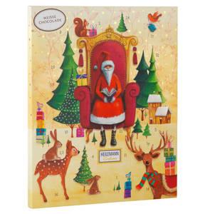 HEILEMANN Confiserie             Kinder-Adventskalender mit Weißer Schokolade, 175 g