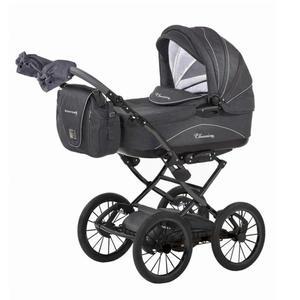 """knorr-baby Kombi-Kinderwagen """"Classico"""", schwarz-grau"""