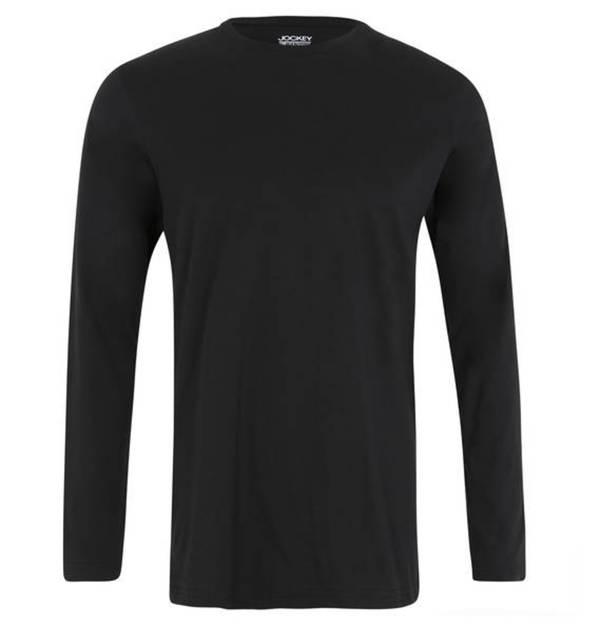 jockey schlafanzug shirt unifarbend baumwolle von. Black Bedroom Furniture Sets. Home Design Ideas
