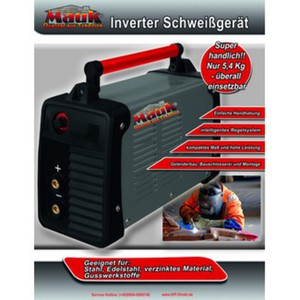 Mauk Inverter-Schweißgerät MIS 140L
