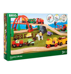 BRIO             Spielbahn Country Life Set