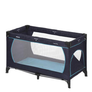 Hauck Reisebett Dream´n Play Plus navy/aqua