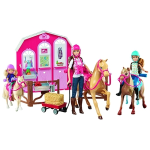 Barbie - Puppe + Ranch-Set