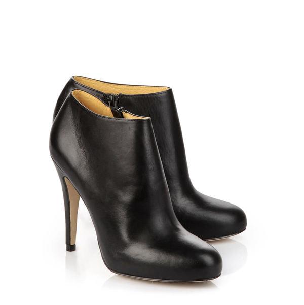buffalo ankle boots in schwarz von ansehen. Black Bedroom Furniture Sets. Home Design Ideas
