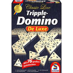 Schmidt Spiele Tripple Domino de Luxe